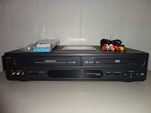 Buy Discount Daewoo DV6T834N DVD/VCR Combo Hi-Fi Stereo Video Cassette Recorder DVD Player