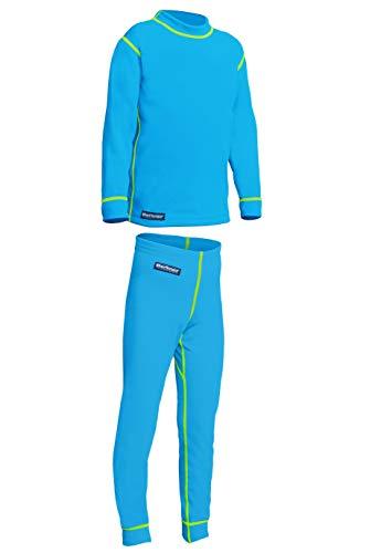 Berkner Set de sous-vêtements thermiques/fonctionnels pour enfants et adolescents 158 cm Türkis