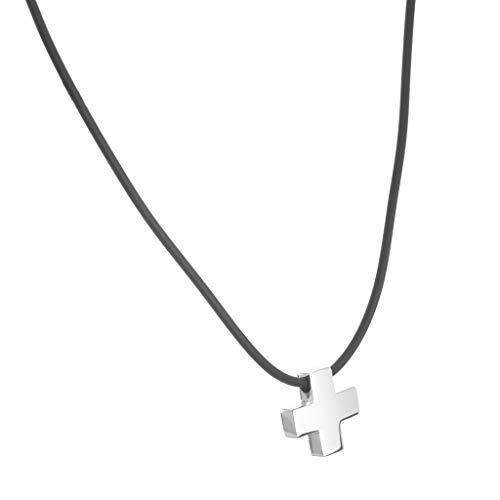 Dije cruz suiza de plata