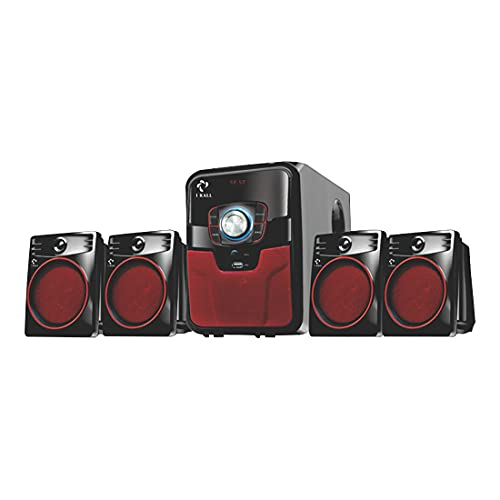 I KALL IK405 Home Theatre System, Bluetooth, Aux, USB and FM Connectivity (4.1, Black)