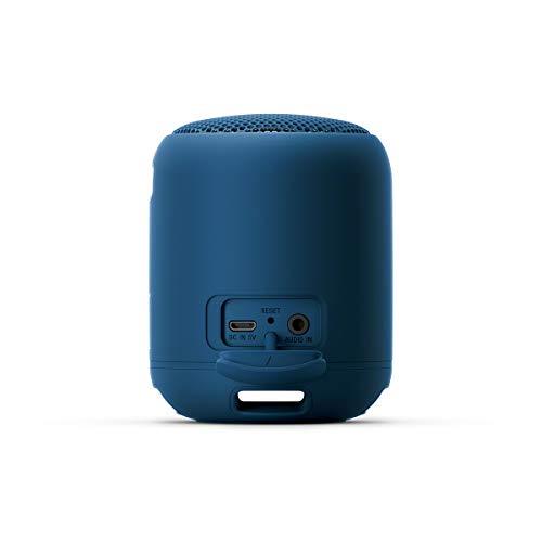 Sony SRS-XB12, Altavoz, Inalámbrico y alámbrico, MicroUSB, Tamaño Único, Azul