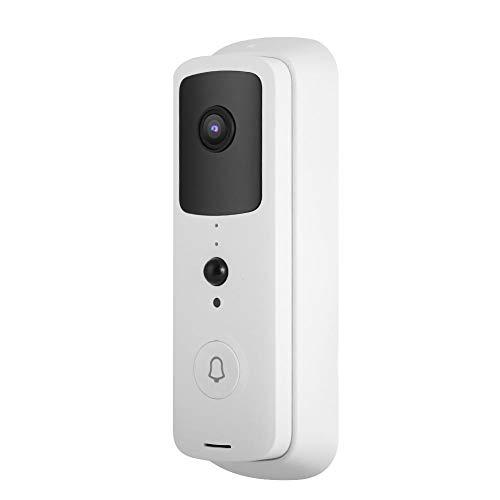 Video Timbre 2.4GHz WiFi, para Seguridad en la Oficina(White)