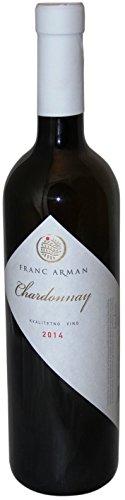 Franc Arman Chardonnay trocken Weisswein 0,75l Istrien