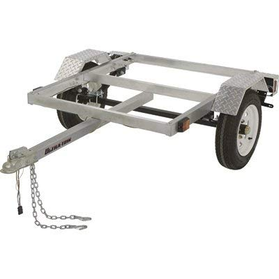 Ultra-Tow 40in. x 48in. Aluminum Utility Trailer Kit - 1060-Lb. Load Capacity