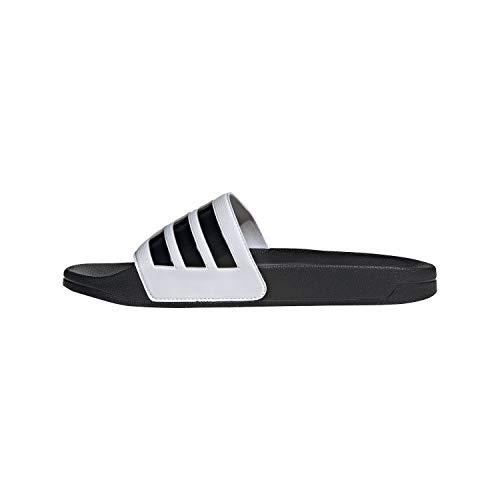 adidas Adilette Shower, Scarpe da Ginnastica Uomo, Ftwr White Core Black Matte Gold, 42 EU