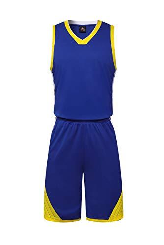 LHDDD NBA Baloncesto UniformesConjunto de pantalones cortos de camiseta de verano de NBA Rocket Basketball Jersey Basketball Suit (Patrón de traje de bola personalizable) Camiseta