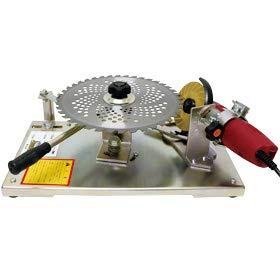 刃物研磨機 チップソー目立て機 Z-40SV アサリ角が取れる 230mm 255mm 305mm 対応型 低速グラインダー付 ダイヤホイル1枚 和C 代不 個人宅配送不可