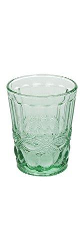6er Set Wasserglas SOLANGE, grün, 265 ml, mundgeblasen von TOGNANA