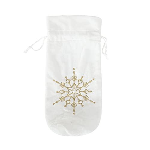 SoeHong Cubiertas de botellas de vino, decoración de mesa para decoración de Navidad para el hogar, Navidad, Año Nuevo, decoración de Navidad