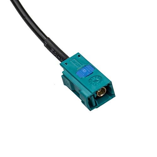 Rückfahrkamera Zubehör für MB C E GLK Klasse W209 W203 W204 W219 W211 W212 W218 X204 S80L S90 XC60 XC70 Videoeingang Kabelbaum für Autoradio, AV-Stecker zu Display