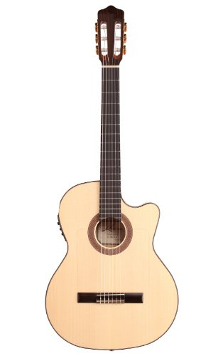 Kremona 6 String Acoustic-Electric Guitar, Right Handed, Natural (Rosa Luna CW)