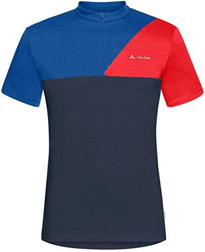 VAUDE Tremalzo IV T-Shirt Herren Blue/Eclipse Größe L 2021 Radtrikot kurzärmlig