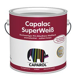 Caparol Capalac SuperWeiß 2,5 Liter (weiß)