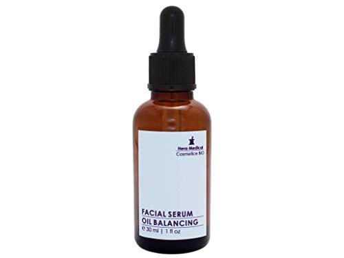 SÉRUM ÉQUILIBRANT À L'HUILE, Sérum de traitement pour association | huileux | irrité | à tendance acnéique | pores dilatés types de peau - 98.8% organique - 30 ml