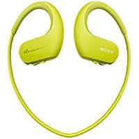 Sony NWWS413 Walkman - Reproductor MP3 deportivo (4 GB, resistente al agua salada y altas temperaturas), color verde