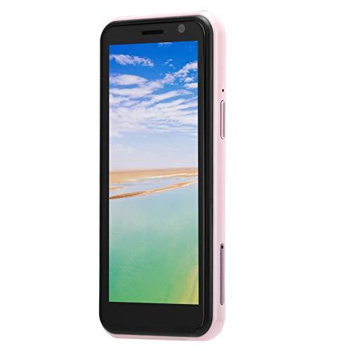 Kleines Mobiltelefon, Dual Card Dual Standby-Telefon 3,49-Zoll-LCD-Bildschirm Mobiltelefon Pink Unterstützung FM/WiFi/Tastatur / (European regulations)