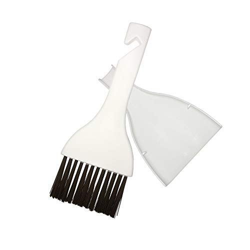 mayoyo Cleaning Brush and Dustpan Set Desktop Mini Broom,Dust Pan and Brush Set for Table,Desk,Keyboard,Air Conditioner condenser Fin Refrigerator Coil Cleaning Whisk Brush and more.