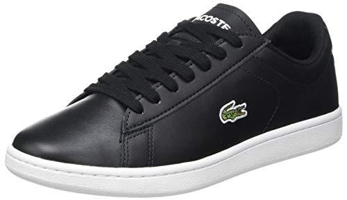 Lacoste Damen Carnaby Evo 0120 5 SFA Sneaker, Blk/Wht, 38 EU