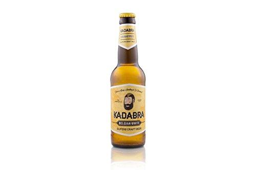 Cerveza KADABRA Belgian White caja de 12 unidades de 33cl
