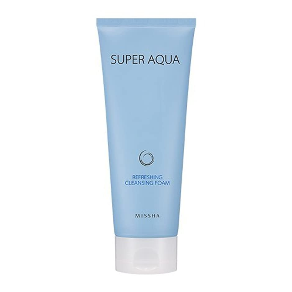 実現可能性やりがいのある芸術Missha Super Aqua Refreshing Cleansing Foam 6.76oz/200ml