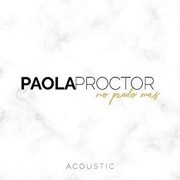 No Puedo Mas (Acoustic)