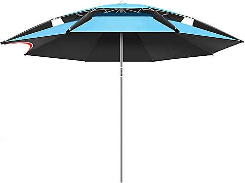 MIAOLIANG Outdoor Parasol Umbrella,Garden Umbrella,Umbrella With Tilt Mechanism,Height Adjustable,Beach Patio Umbrella Sun Shade