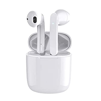 Balhvit Touch Control Wireless Earbuds Headphones, HiFi Stereo 5.0 Bluetooth Headphones in Ear IPX6 Waterproof Wireless Earphones With Mic, 35H Playtime TWS Bluetooth Earphones With Fast Charging Case by Balhvit