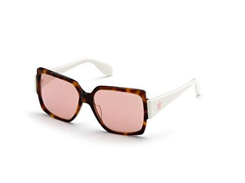 adidas OR0005 Gafas, dark havana/bordeaux mirror, 55 para Mujer