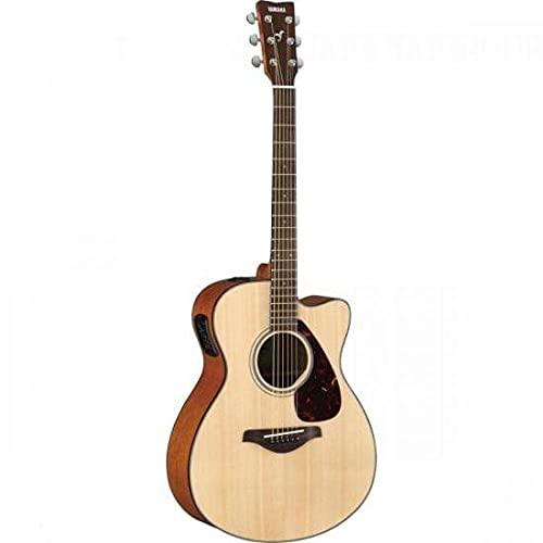 YAMAHA FSX800C - Guitarra eléctrica acústica, Marrón (Natural)