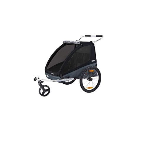 Thule Coaster 2 XT Fietskar Premium - Portabicicletas, color negro