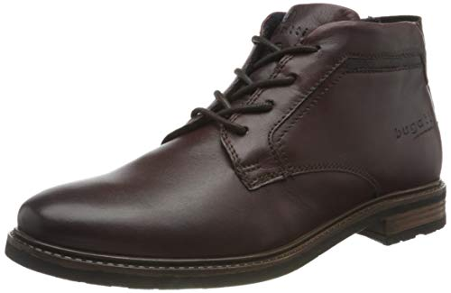bugatti Herren 311A17304000 Oxford-Stiefel, dark brown, 46 EU