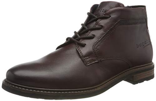bugatti Herren 311A17304000 Oxford-Stiefel, Dark Brown, 42 EU