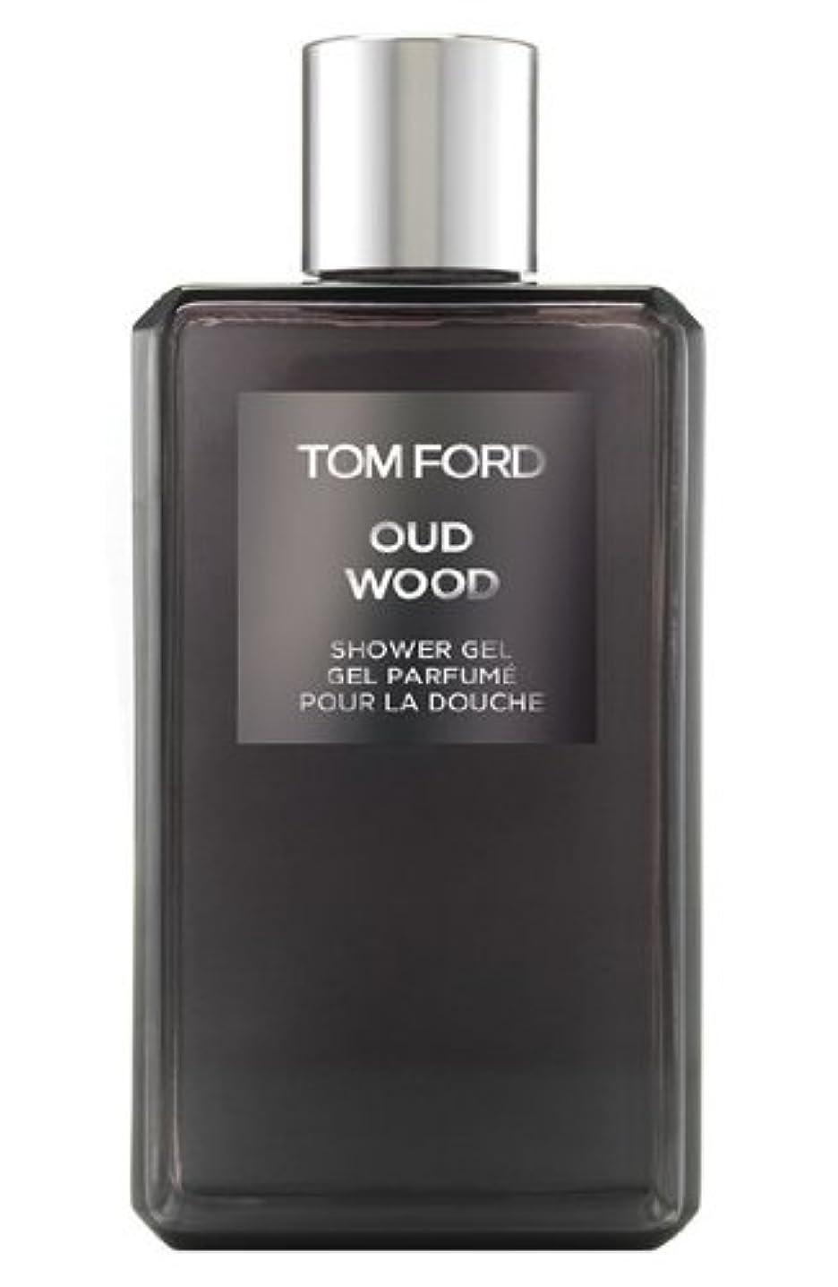 ストローク墓地自信があるTom Ford Private Blend 'Oud Wood' (トムフォード プライベートブレンド オードウッド) 8.45 oz (254ml) Shower Gel