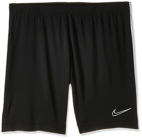 Nike M NK Dry ACDMY Short K Sport Homme, Black/White/(White), FR : S (Taille Fabricant : S)