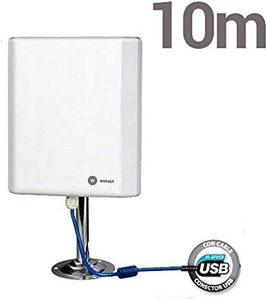 38 cm Modo Envolvente Interior WiFi Antena RP-SMA 12dBi #186