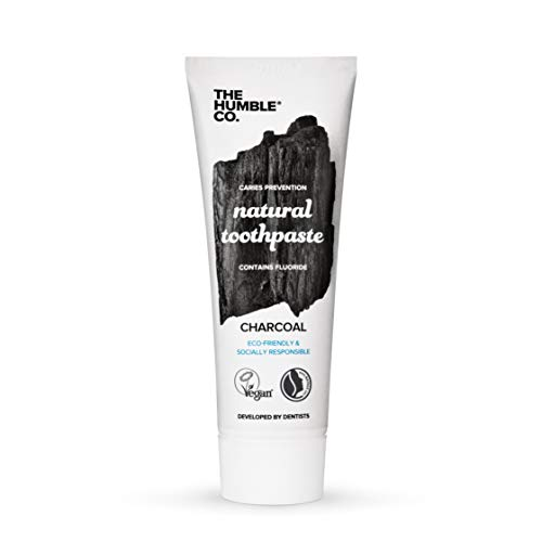 Humble Brush Tandpasta Natural Charcoal, 75 ml