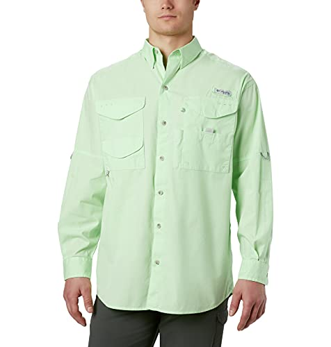 Columbia Sportswear Men's Long Sleeve Shirt Bonehead, Key West, X-Small