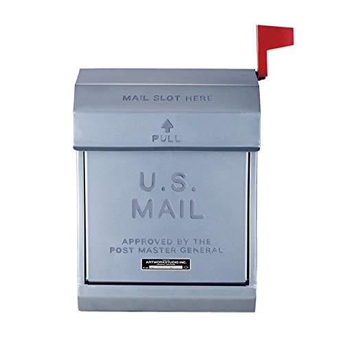 ART WORK STUDIO メールボックス2 U.S. Mail box 2 [ シルバー / TK-2078 ]