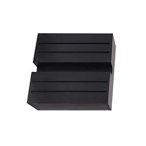 YIXISI Quadratischer Wagenheber Gummiauflage mit Nut, Disk Block Gummiauflage Schutz Adapter, für Jack Stand