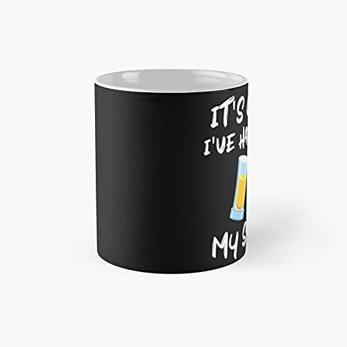 It's Cool I've Had Both My Shots Classic Mug - 11 Ounce For Coffee, Tea, Chocolate Or Latte.
