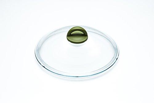 ILLA wo7528Deckel aus Pyrex Glas mit Knauf Soft Touch