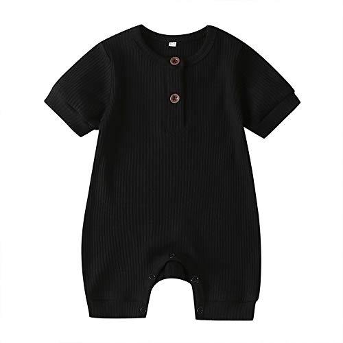 LZH ベビーロンパース ベビー服 半袖 セーター ニット 子供服 赤ちゃん 新生児 女の子 男の子 カバーオール 夏服 スナップボタン 着替え便利 肌着 ボディースーツ インナー パジャマ 出産祝い お宮参り 新生児 退院着 誕生日