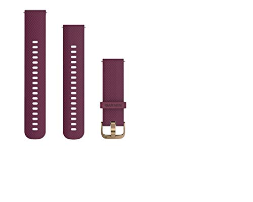 Garmin 010-12691-05 correa para reloj Watch strap Silicona Marrón