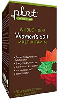 Fermented Whole Food Women's Multivitamin for 50+ (120 Vegetarian Capsules)