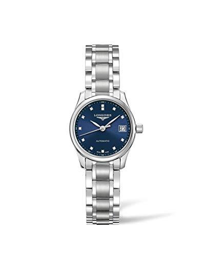 [ロンジン] 腕時計 ロンジン マスターコレクション 自動巻き L2.128.4.97.6 レディース 正規輸入品 シルバー