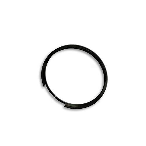 Shoppy Lab Anello Decorativo Cover Ring Per Auto Mini Cooper One D S Countryman In Alluminio Guscio Scocca Telecomando Chiave Portachiavi (Nero)