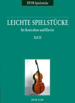 LEICHTE SPIELSTUECKE 2 - arrangiert für Kontrabass - Klavier [Noten/Sheetmusic] Komponist: Trumpf Klaus