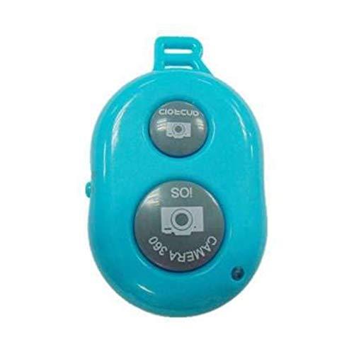 Zhice Soporte para teléfono móvil Soporte Flexible Trípode para cámara de teléfono móvil Soporte Selfie (Color : Only Blue Remote co)