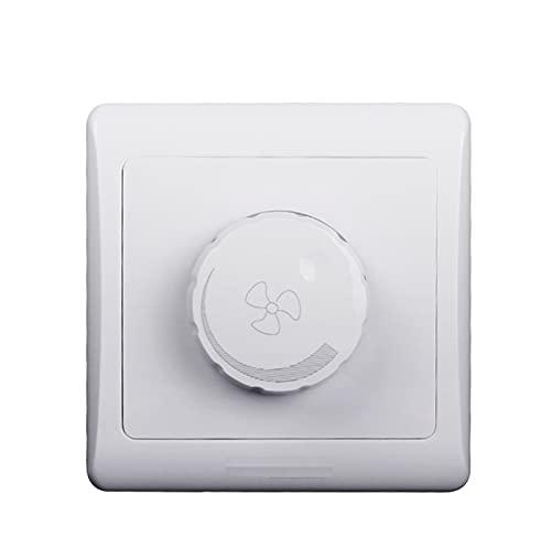 PUGONGYING Popular Interruptor de Control de Velocidad del Controlador de Velocidad del Ventilador de Techo Ajuste para los fanáticos Durable
