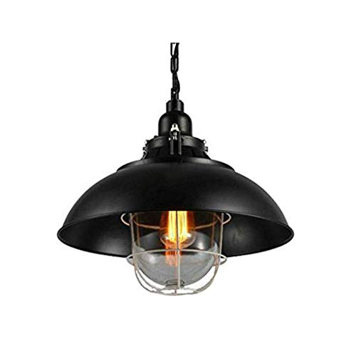 Antiguo industrial semi-incrustado Lámparas de techo, iluminación de la lámpara de metal de la vendimia for enjaulado Corredor Salón Hall de entrada Cocina Garaje porche de entrada. kshu